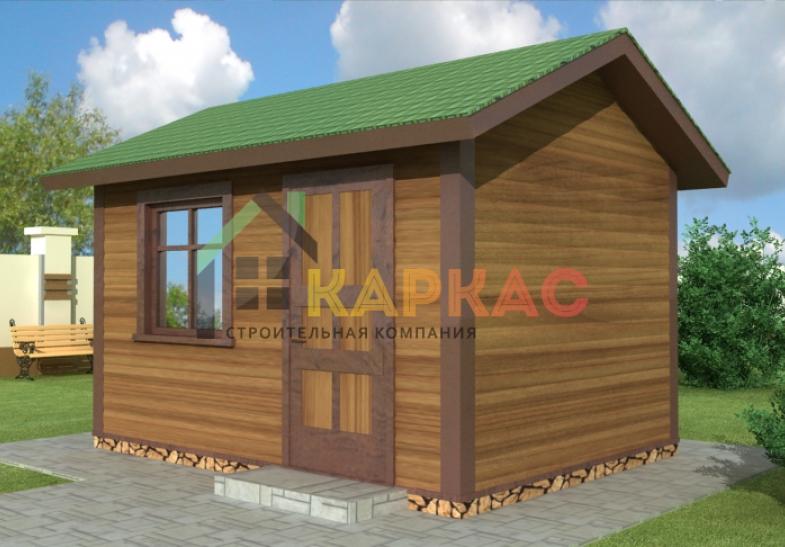 проект небольшого домика для дачи