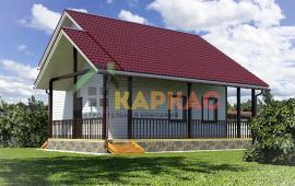 Двухэтажный каркасный дом «Кейль»