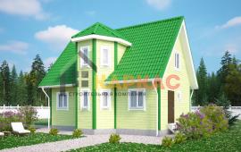 Каркасный дом 9х6 «Проект №4» 1