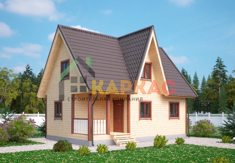 Каркасный дом 9х6 «Проект №5» 4