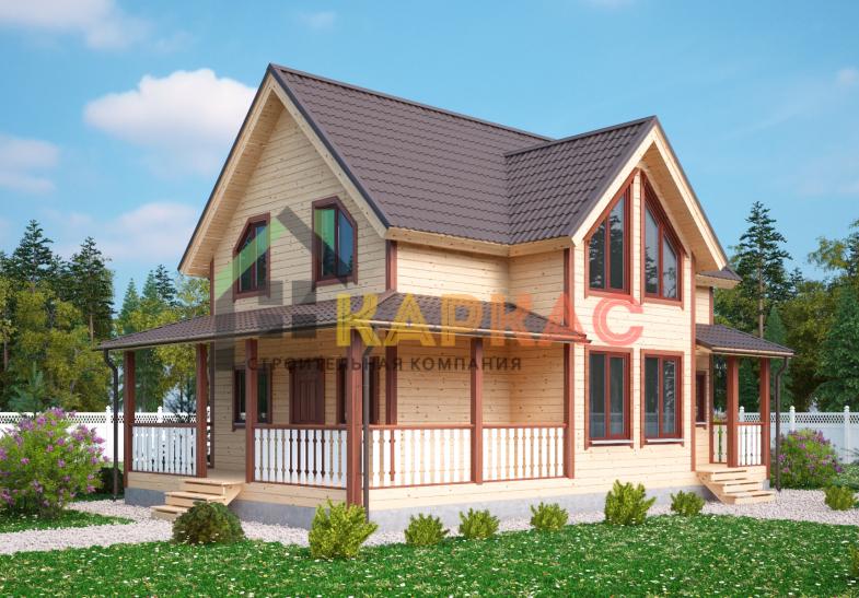 Каркасный дом 12х7,5 «Проект №7» 4