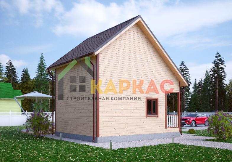 Каркасный дом 7,5х6 «Проект №11» 5