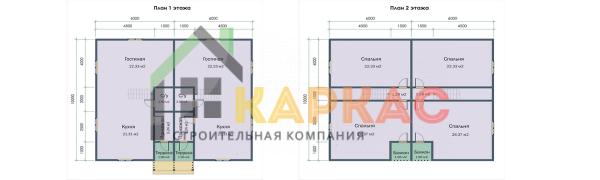 планировка всех этажей